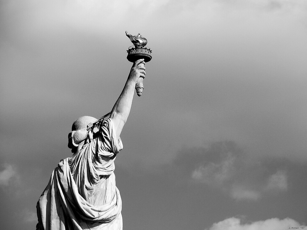 Lady Liberty by Joe Mckay