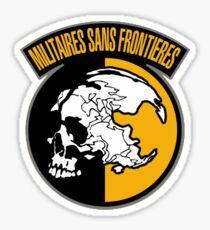 Metal Gear Solid: Peace Walker - MSF Sticker