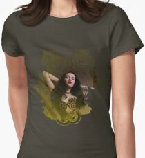 Betty Moan Womens Fitted T-Shirt