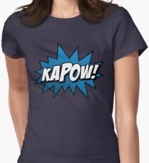 Kapow! Women's Fitted T-Shirt