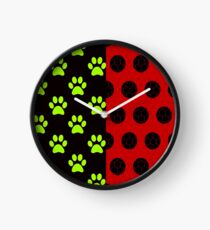 LadyNoir Pattern Clock