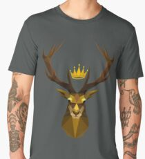 The crowned stag of House Baratheon Men's Premium T-Shirt