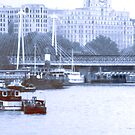 River Thames by Lee Kerr