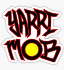 Yarri Mob Graffiti - Aboriginal Flag 1 Sticker