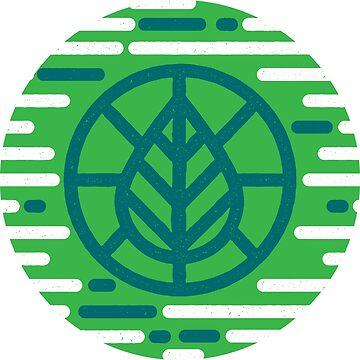 Planet Leaf  by sajeduzzaman