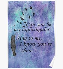 My Nightingale Poster