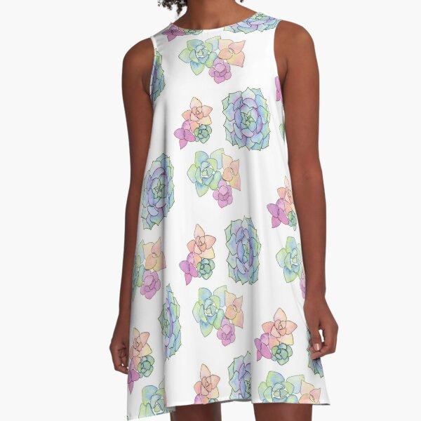 succulent trio A-Line Dress