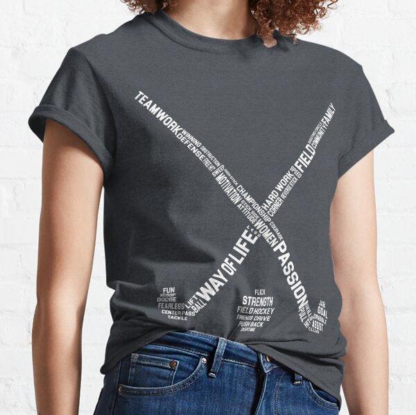 Field Hockey Words Classic T-Shirt