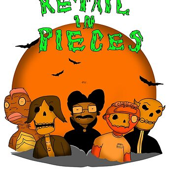 Retail In Pieces Year 1 Design by RetailTheComic