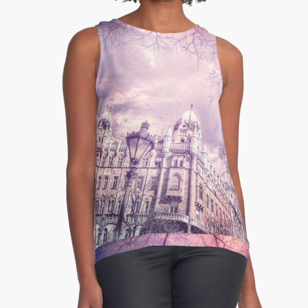 Wake Up Positive Today. Join the Happiness Movement Sleeveless Top