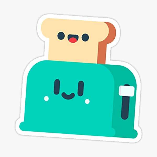 Toasty Profile Picture Sticker