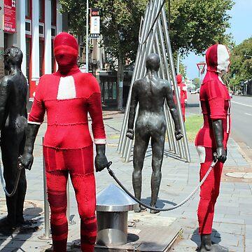 Steel Men in Xmas Garb  by KazM