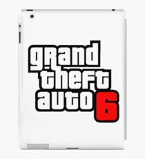 gta 6 iPad Case/Skin