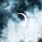 Partial Eclipse Abstract by kalimorganphoto