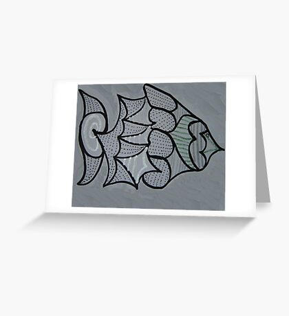 Mystery Fish Greeting Card