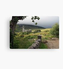Dunlewey church 2 Canvas Print