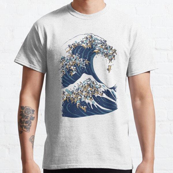 Die große Mopswelle Classic T-Shirt