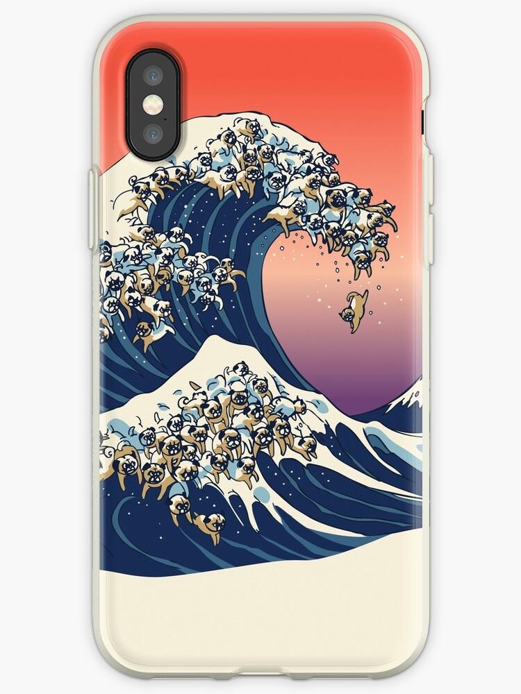 «La gran ola de barro amasado» de Huebucket