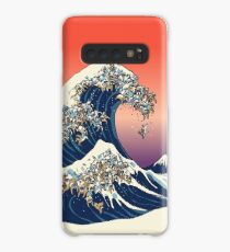 The Great Wave of English Bulldog Case/Skin for Samsung Galaxy