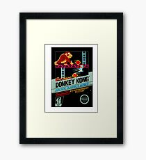 DONKEY KONG CLASSIC GAME Framed Print