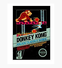 DONKEY KONG CLASSIC GAME Photographic Print