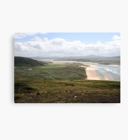 Donegal countryside, donegal Canvas Print