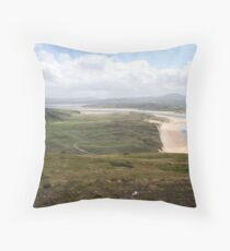 Donegal countryside, donegal Throw Pillow