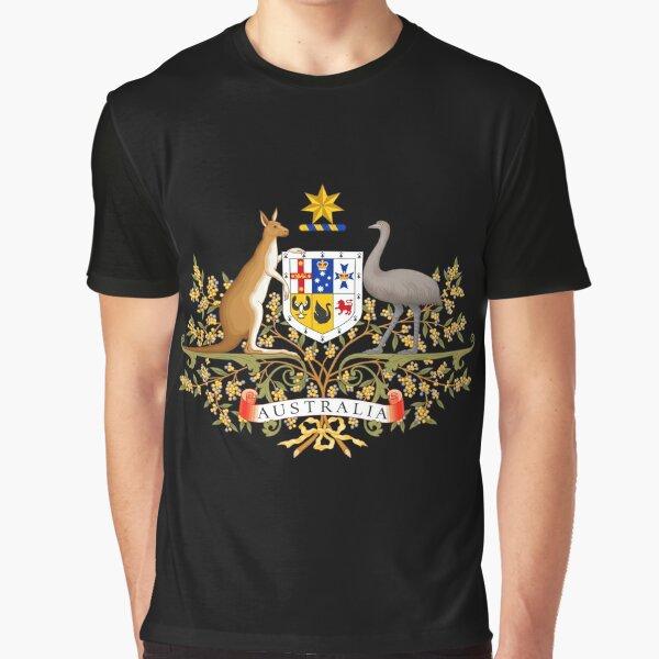 AUSTRALIAN COAT OF ARMS Graphic T-Shirt