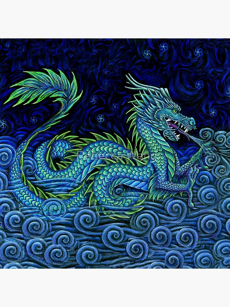 Chinese Azure Dragon by lioncrusher