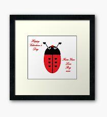 Love Bug (Valentine's Day) Framed Print
