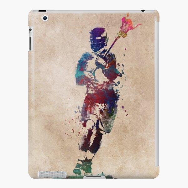 Lacrosse player art 2 #sport #lacrosse iPad Snap Case