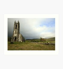 Dunlewey church 3 Art Print