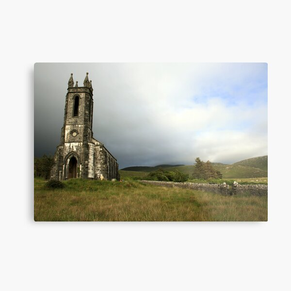 Dunlewey church 3 Metal Print
