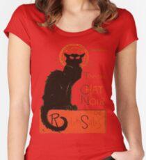 Tournee Du Chat Noir - After Steinlein Women's Fitted Scoop T-Shirt