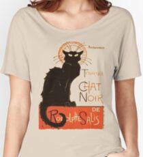 Tournee Du Chat Noir - After Steinlein Women's Relaxed Fit T-Shirt