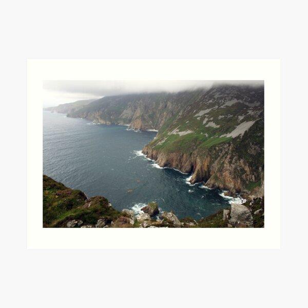 Slieve League cliffs Art Print