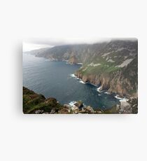 Slieve League cliffs Metal Print