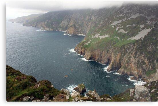 Slieve League cliffs by John Quinn
