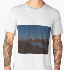 Low Tide at Felixstowe Ferry Men's Premium T-Shirt