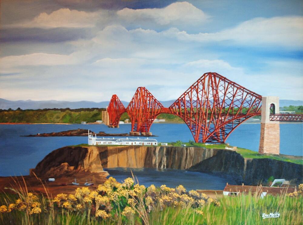 The Forth Rail Bridge by ericmeikle