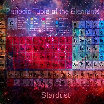 Stardust Periodic Table by fotokatt