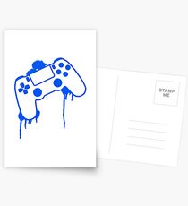 PS4 Controller Postcards
