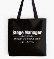 Stage Manager Gifts - Women Assistant Stage Managers Tote Bag