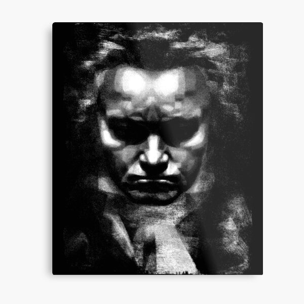 Beethoven Composer Music Teacher t shirt Metal Print