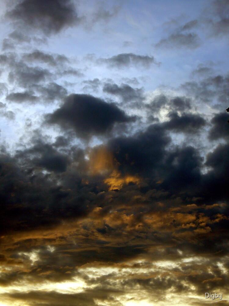 Typhoon Skies II by Digby