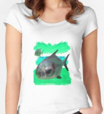 License to Fish Women's Fitted Scoop T-Shirt