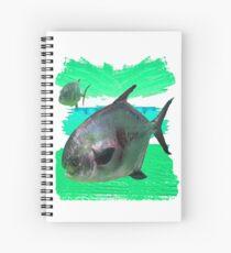 License to Fish Spiral Notebook