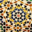 Moroccan Tile by Andrew  Kerry