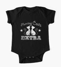 Purring Costs Extra for Crazy Cat Lovers Kids Clothes