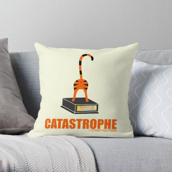 Catastrophe Throw Pillow